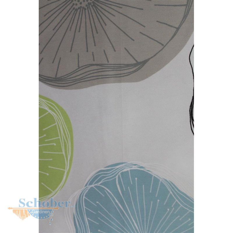gardinen deko gardine grau gr n gardinen dekoration. Black Bedroom Furniture Sets. Home Design Ideas