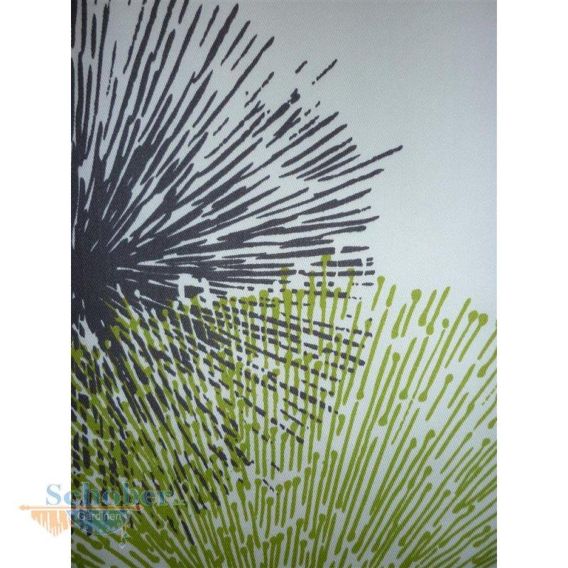 deko stoff gardine vorhang kreise pusteblume wei gr n gra. Black Bedroom Furniture Sets. Home Design Ideas
