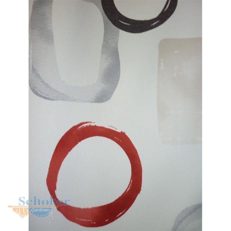gardinen deko gardinen grau wei rot gardinen. Black Bedroom Furniture Sets. Home Design Ideas