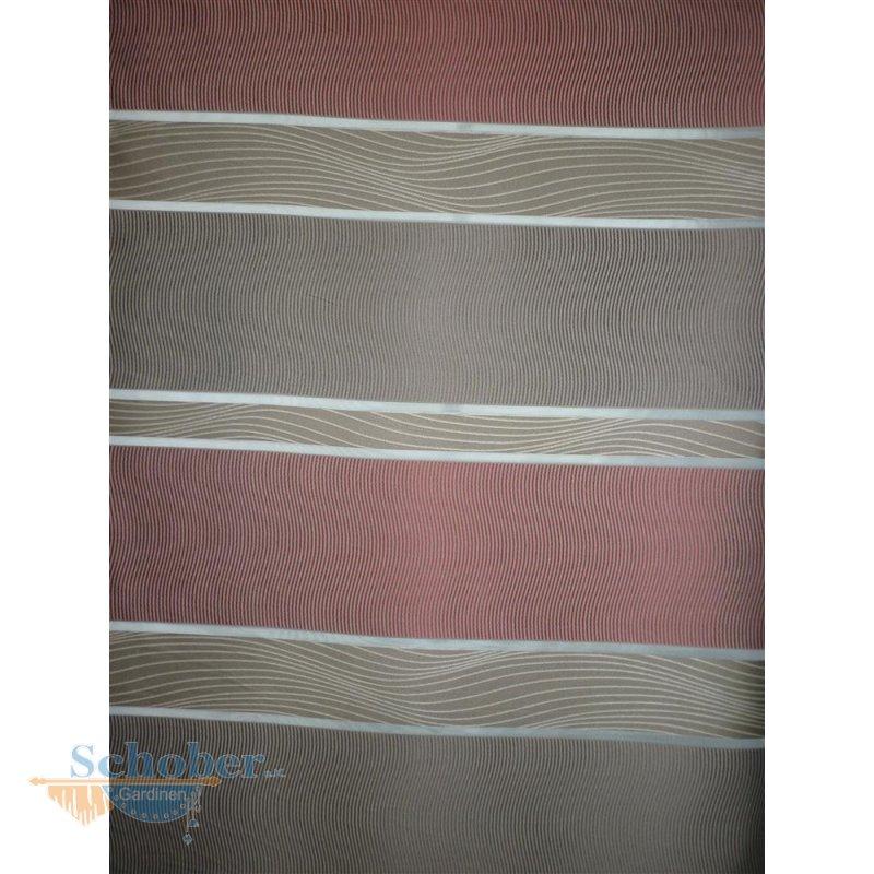 deko stoff gardine vorhang querstreifen schlamm rot wei halbtr. Black Bedroom Furniture Sets. Home Design Ideas