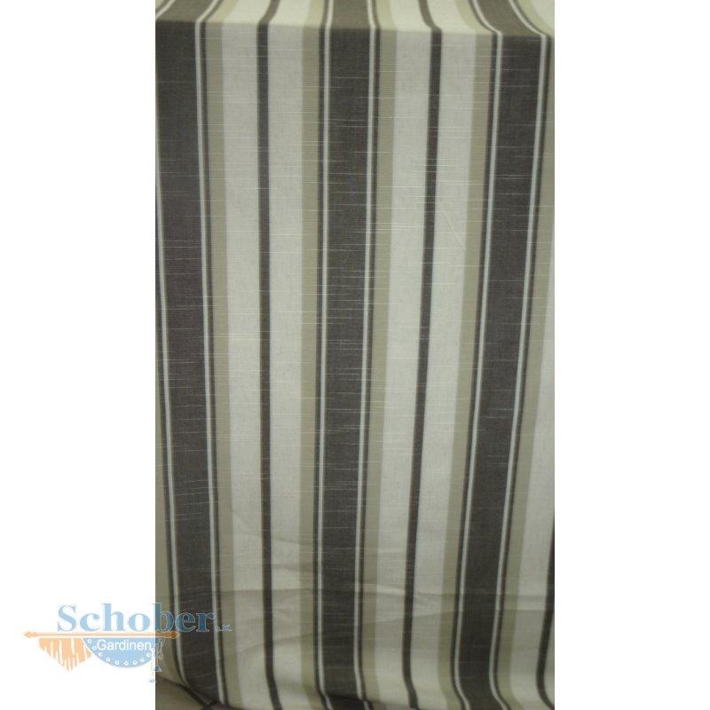 deko stoff vorhang landhaus streifen braun beige. Black Bedroom Furniture Sets. Home Design Ideas