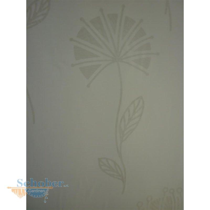 deko stoff gardine vorhang ausbrenner pusteblume wei halbtran. Black Bedroom Furniture Sets. Home Design Ideas