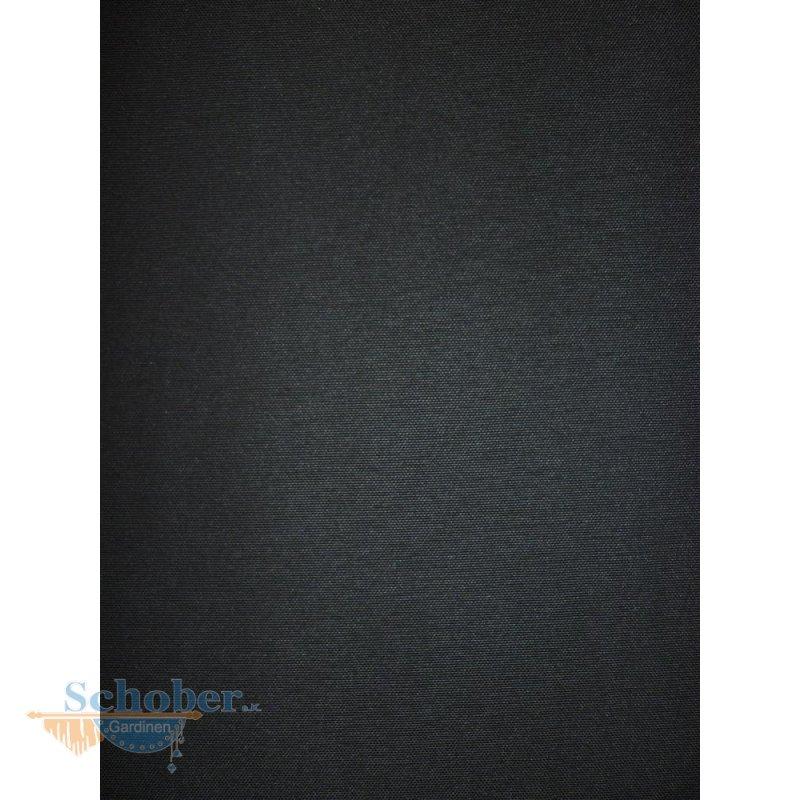 deko stoff gardine vorhang bergamo dunkelgrau grau einfarbig blickdic. Black Bedroom Furniture Sets. Home Design Ideas