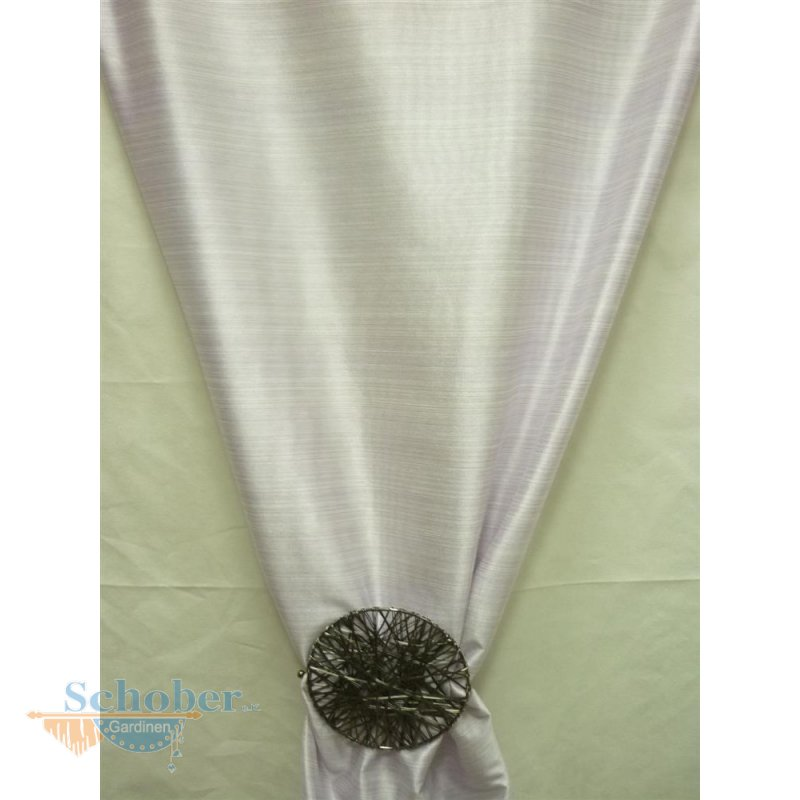deko stoff gardine vorhang feine l ngsstreifen wei lila t. Black Bedroom Furniture Sets. Home Design Ideas