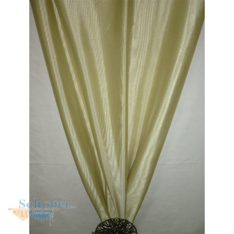 deko stoff gardine vorhang lindgr n uni transparent. Black Bedroom Furniture Sets. Home Design Ideas