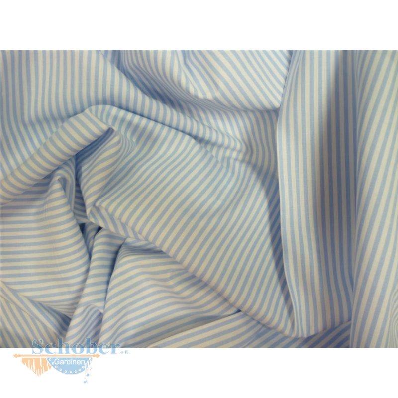 deko stoff vorhang fahnentuch baumwolle blau wei. Black Bedroom Furniture Sets. Home Design Ideas