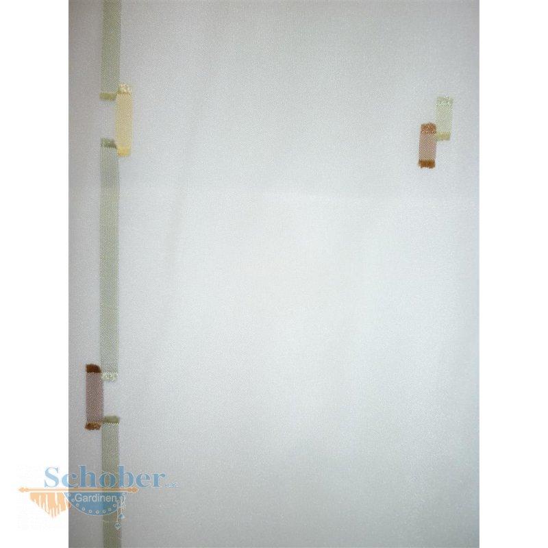 stores gardine vorhang streifen wei braun gr n transparen. Black Bedroom Furniture Sets. Home Design Ideas