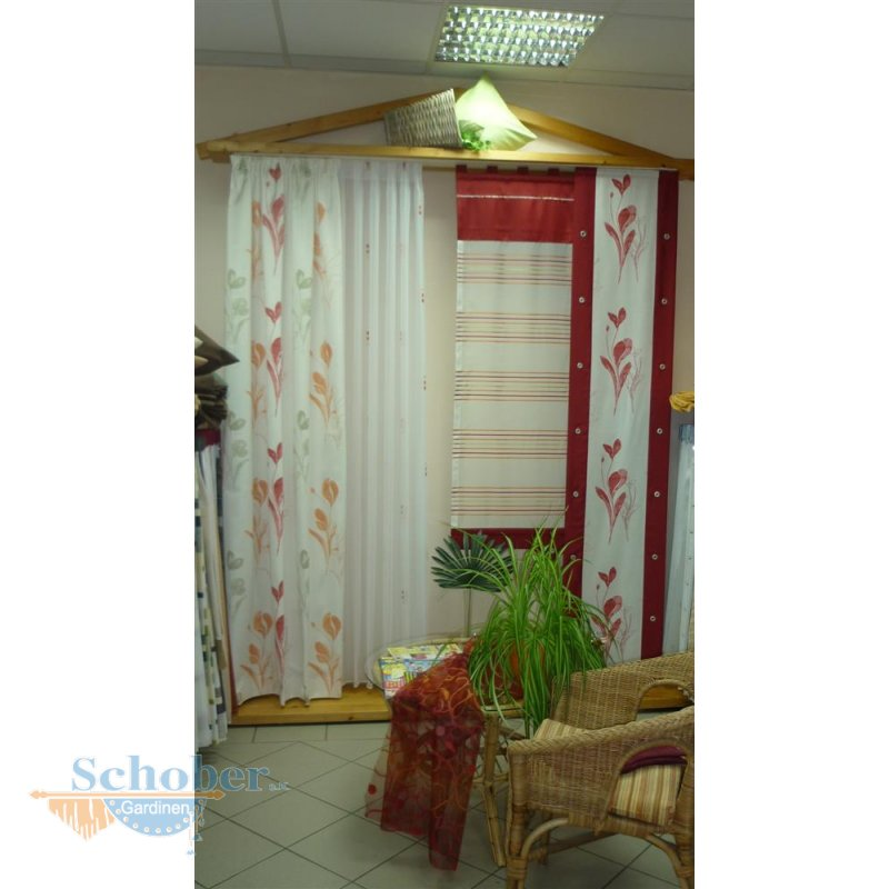 musterfenster vorhang gardine schal fl chenvorhang stores beige. Black Bedroom Furniture Sets. Home Design Ideas