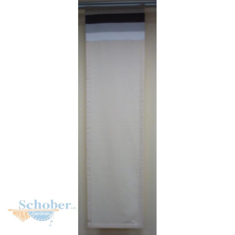 musterfenster vorhang gardine fl chen wei creme braun lil. Black Bedroom Furniture Sets. Home Design Ideas
