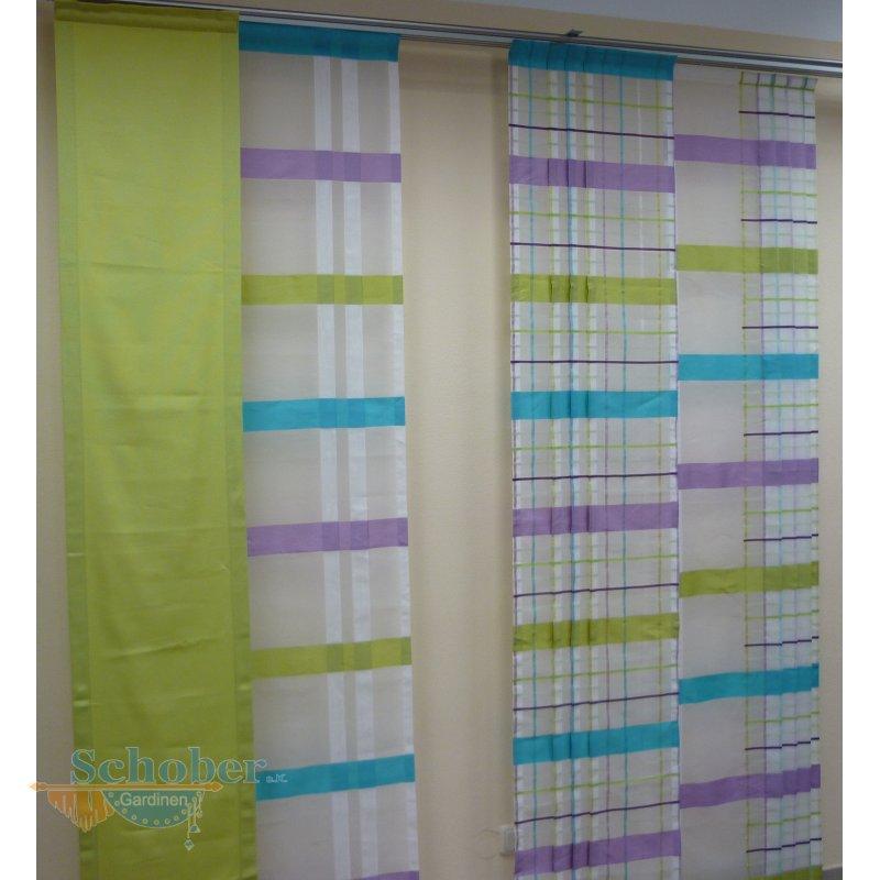 Musterfenster aus ausstellung vorhang gardinen wei lila - Musterfenster gardinen ...