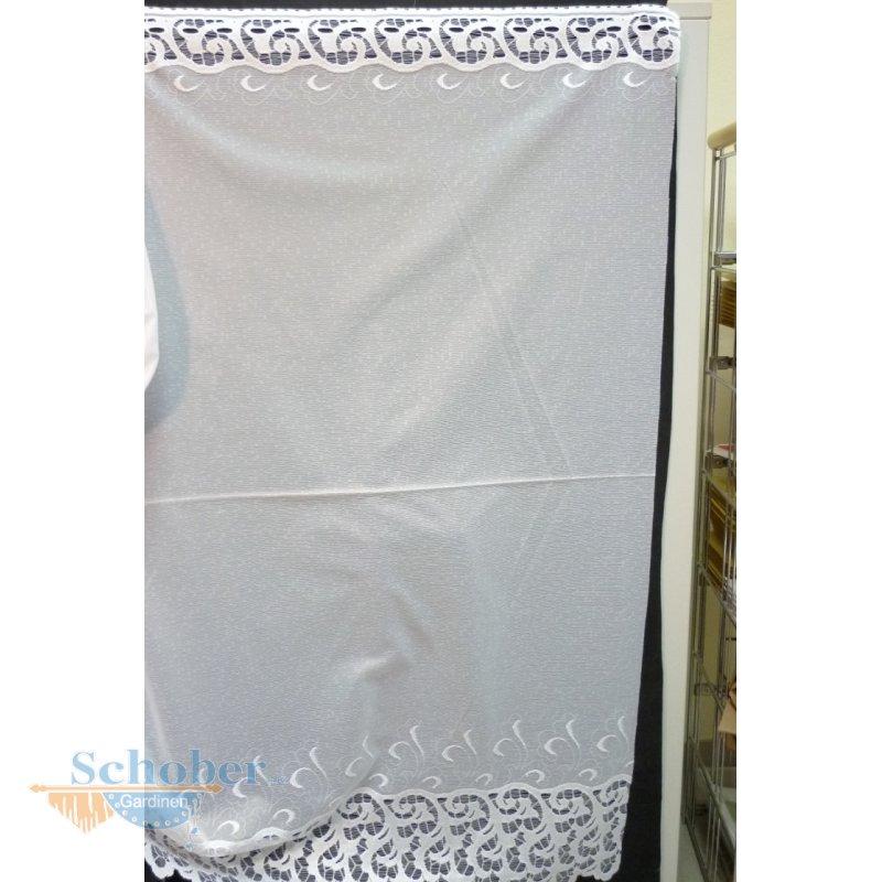 sockel stores gardine stoff vorhang bord re wei transpare. Black Bedroom Furniture Sets. Home Design Ideas