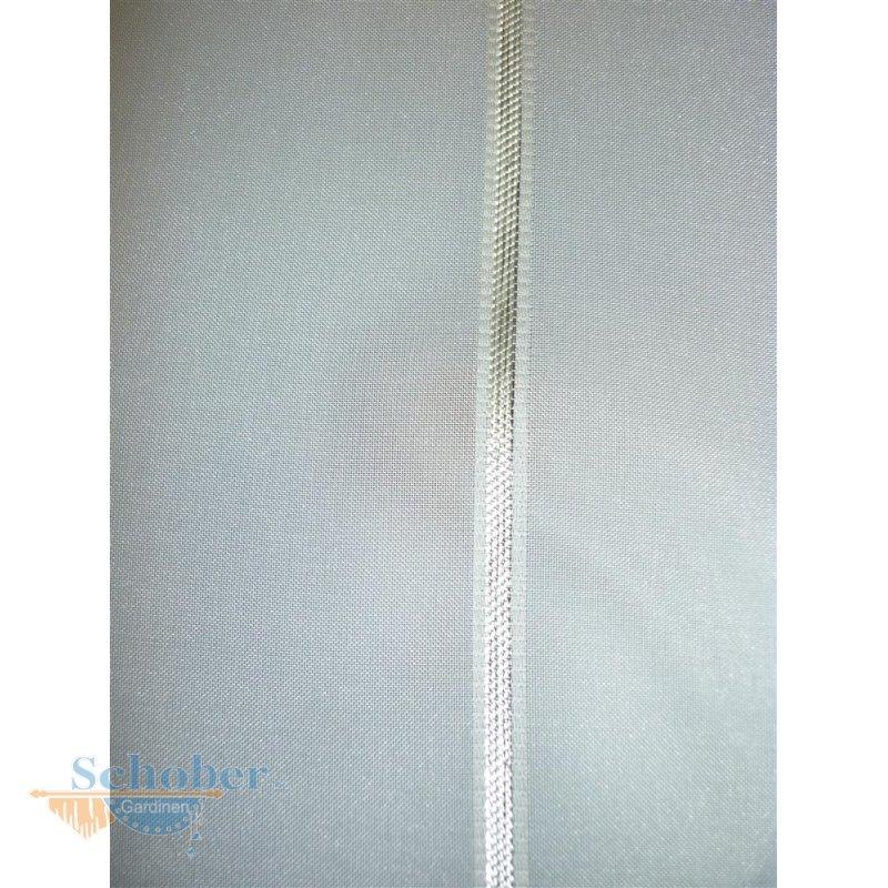 stores gardine stoff vorhang streifen natur silber transparent meter. Black Bedroom Furniture Sets. Home Design Ideas