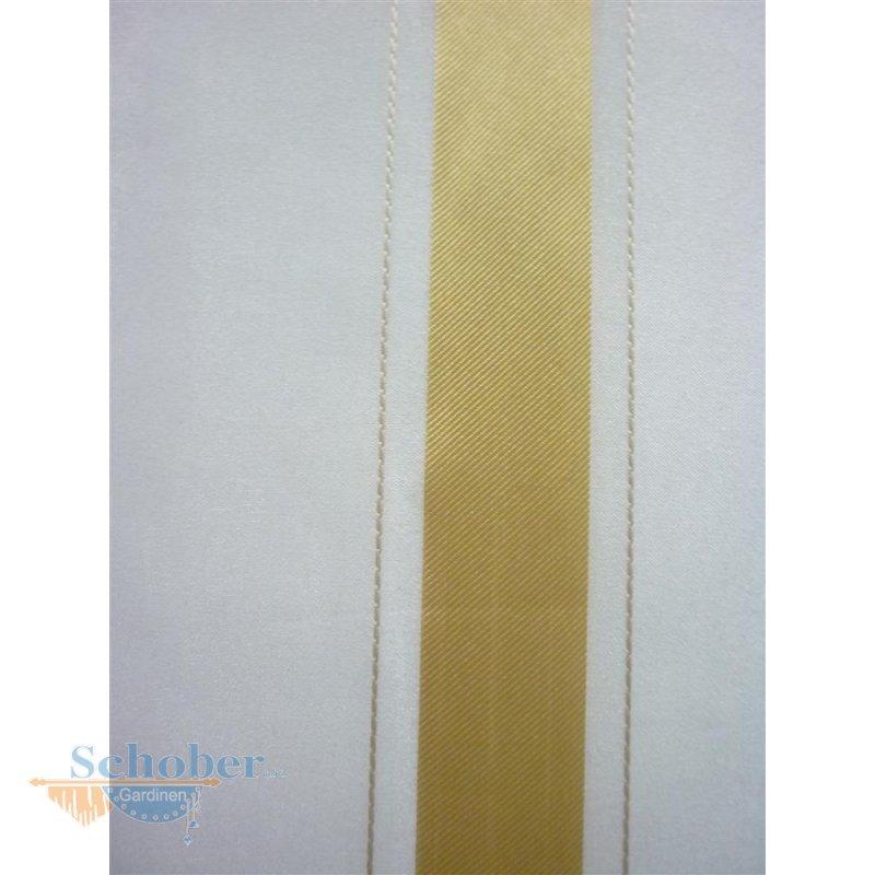 stores gardine stoff vorhang streifen wei gelb braun. Black Bedroom Furniture Sets. Home Design Ideas