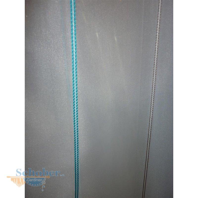 stores gardine stoff vorhang streifen wei t rkis grau tra. Black Bedroom Furniture Sets. Home Design Ideas