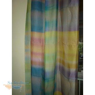 deko schal vorhang gardine k stchen gelb blau pink lila transpar. Black Bedroom Furniture Sets. Home Design Ideas