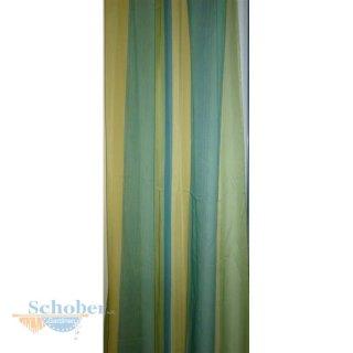 Deko Schal Vorhang Gardine Langsstreifen Gelb Petrol Transparent
