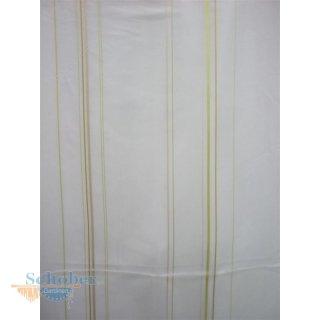 stores gardine stoff vorhang streifen wei beige gr n tran. Black Bedroom Furniture Sets. Home Design Ideas