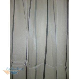 stores gardine stoff vorhang streifen wei lila anthrazit grau. Black Bedroom Furniture Sets. Home Design Ideas