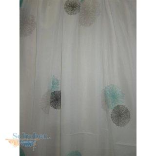 stores vorhang gardine stoff kreisen pusteblume wei t rki. Black Bedroom Furniture Sets. Home Design Ideas