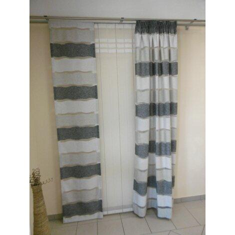 Vorhang Grau Muster musterfenster vorhang gardine flächen streifen grau weiß a