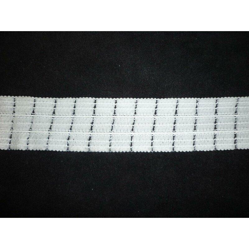 Gardinenband weiß 50mm 1:3//4Falten Faltenband Gardinen Vorhang Gardinenzubehör